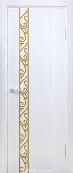 Танго-Грация Арабески вертикале с патиной